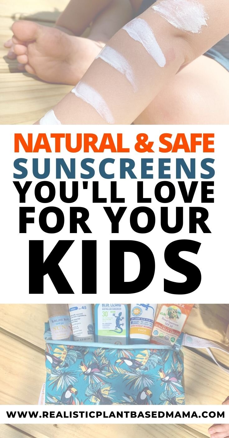 If you are a new mom you are probably looking for the perfect natural sunscreen for your baby's skin. These sunscreens were put to the test on an infant and toddler. Some we will continue you to use and some we wont buy again. What natural sunscreens for kids are you trying this year? These natural sunscreens for kids will be a game changer. I hope these natural sunscreen brands help you!