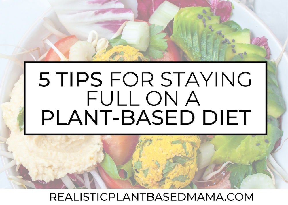 never feel full on vegan diet